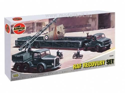 Airfix - AIRFIELD RECOVERY SET