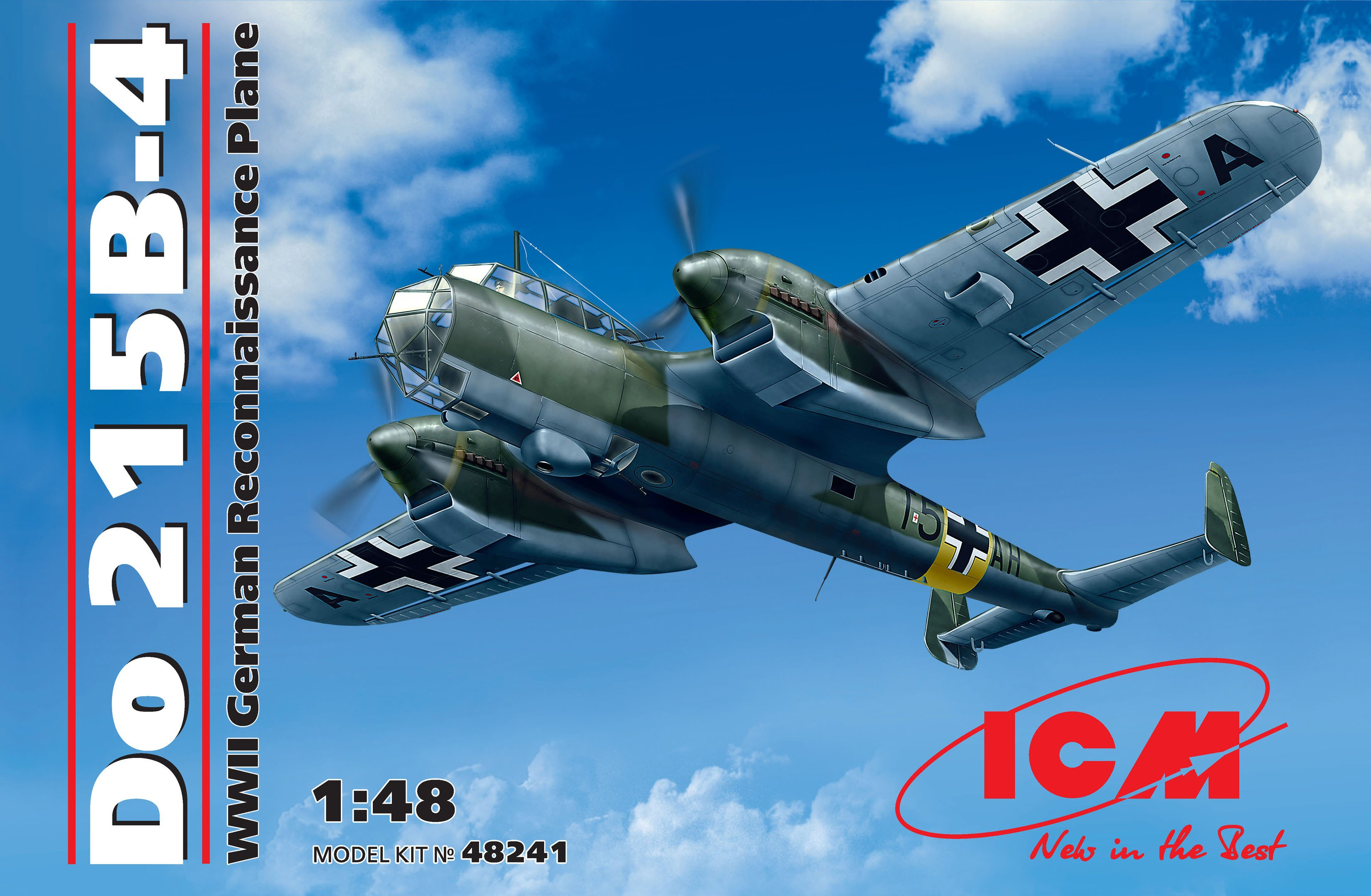 ICM - Do 215 B-4, WWII German Reconnaissance Aircraft