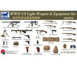 Bronco CBA3558 - WWII US Light Weapon & Equipment Set