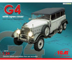 ICM 24012 - Typ G4 with open cover, WWII German Personnel Car