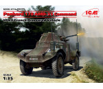ICM 35375 - Panhard 178 AMD-35 Command. WWII French Armoured Vehicle