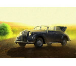 ICM 35471 - Opel Admiral Cabriolet WWII German Staff Car with Figures