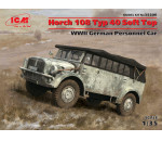 ICM 35506 - Horch 108 Typ 40 Soft Top, WWII German Personnel Car