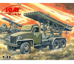 ICM 35512 - BM-13-16N WWII Soviet Multiple Launch Rocket System