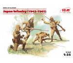 ICM 35568 - Japan Infantry (1942-1945) (4 figures) (100% new molds)