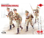 ICM 35677 - WWI Russian Infantry, (4 figures)