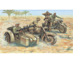 Italeri 6121 - 2nd WW German Motorcycles