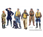 MasterBox 3201 - Famous WWII pilots set