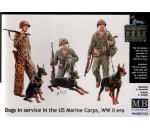 MasterBox 35155 - Dogs in service in US Marine Corps