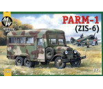 Military Wheels 7207 - PARM-1 + rubber wheels