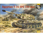 Military Wheels 7239 - T-34-100 Egypt Army