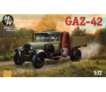 Military Wheels 7241 - GAZ-42 Soviet truck