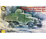 Military Wheels 7244 - GAZ AA armored truck with Maxim AA gun