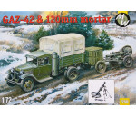Military Wheels 7250 - GAZ-42 & 120 mm mortar