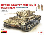 MiniArt 35106 - Brit. Infant. Panzer Mk.3 Valentine Mk.5