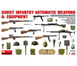 MiniArt 35154 - Soviet Infantry Automatic Weapon&Equipme