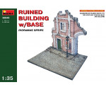 MiniArt 36049 - Ruined Building w/Base