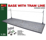 MiniArt 36057 - Base with Tram Line