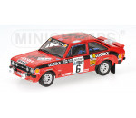 Minichamps 400768406 - FORD ESCORT II RS 1800 - ´COSSACK´ - CLARK/PEGG - WINNERS RA