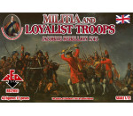Red Box 72051 - Militia+Loyalist Troops 1745,Jacobite R.