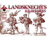 Red Box 72059 - Landsknechts (Halberdiers),16th century