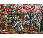 Red Box 72063 - Landsknechts (Heavy infantry) 16th centu