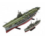 Revell 5149 - HMS Ark Royal & Tribal Class Destroyer makett