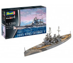 Revell 5161 - HMS King George V makett