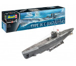 Revell 5166 - German Submarine Type IX C