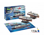 Revell 5692 - GIFT SET HURTIGRUTEN 125TH ANN