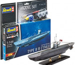 Revell 65155 - modell szett German Submarine Type IIB (1943)