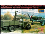 Unimodels UM505 - Airfield starter AS-1with Soviet fighter