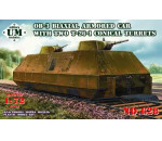 Unimodels UM628 - Biax. arm. carr. OB-3 with double T-26-1
