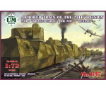 Unimodels UMT647 - Armored train No1 Krasnoyarec´or No2 Yen
