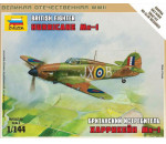 Zvezda 6173 - British Fighter 'Hurricane Mk-