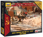 Zvezda 7411 - 1/72 Mini kits Modern Soviet Machine gun Utes