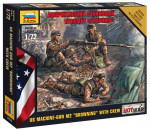 Zvezda 7414 - American Machine gun 'Browning' (Mini-kits Modern)