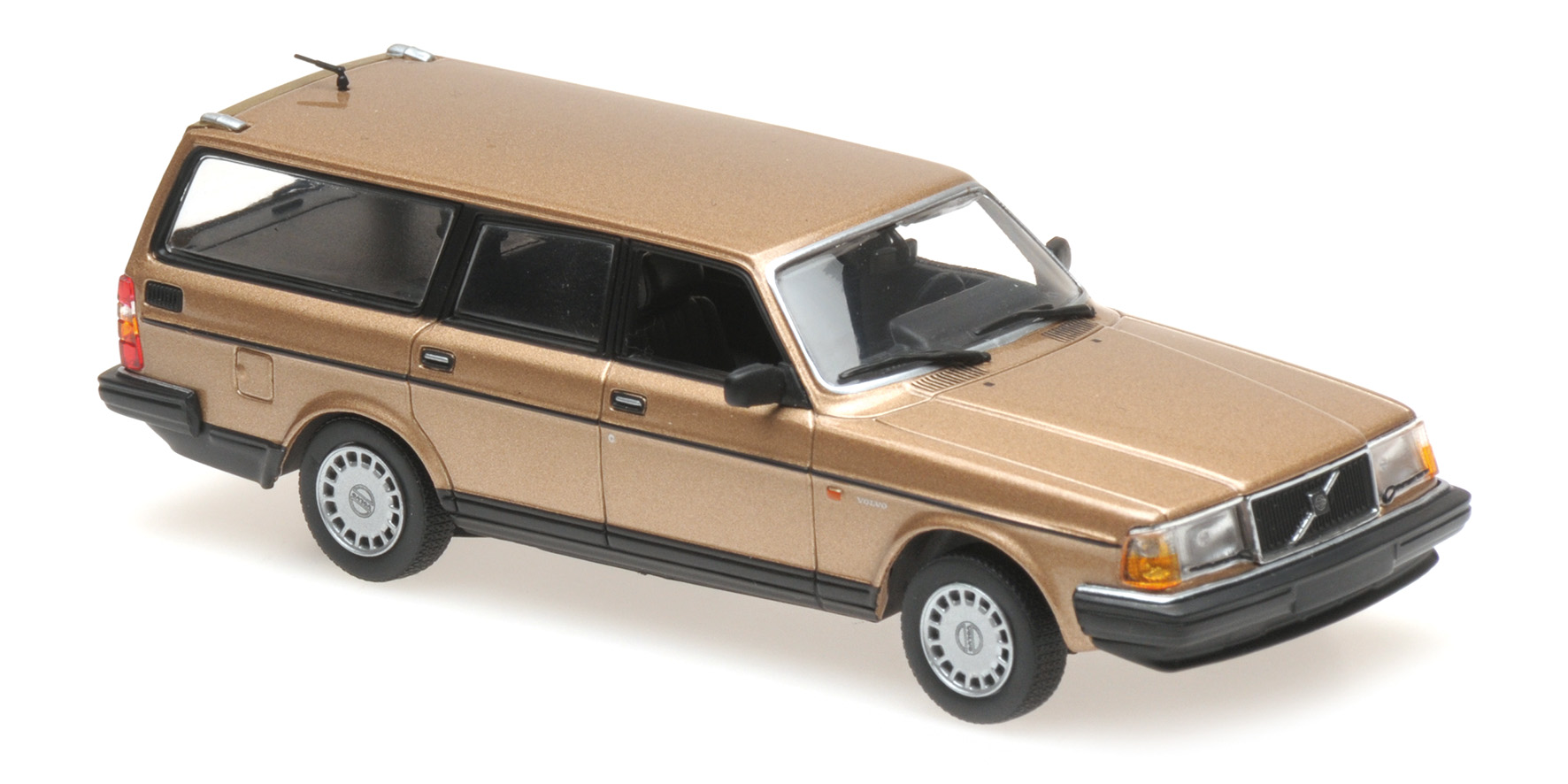 Maxichamps - VOLVO 240 GL BREAK - 1986 - GOLD