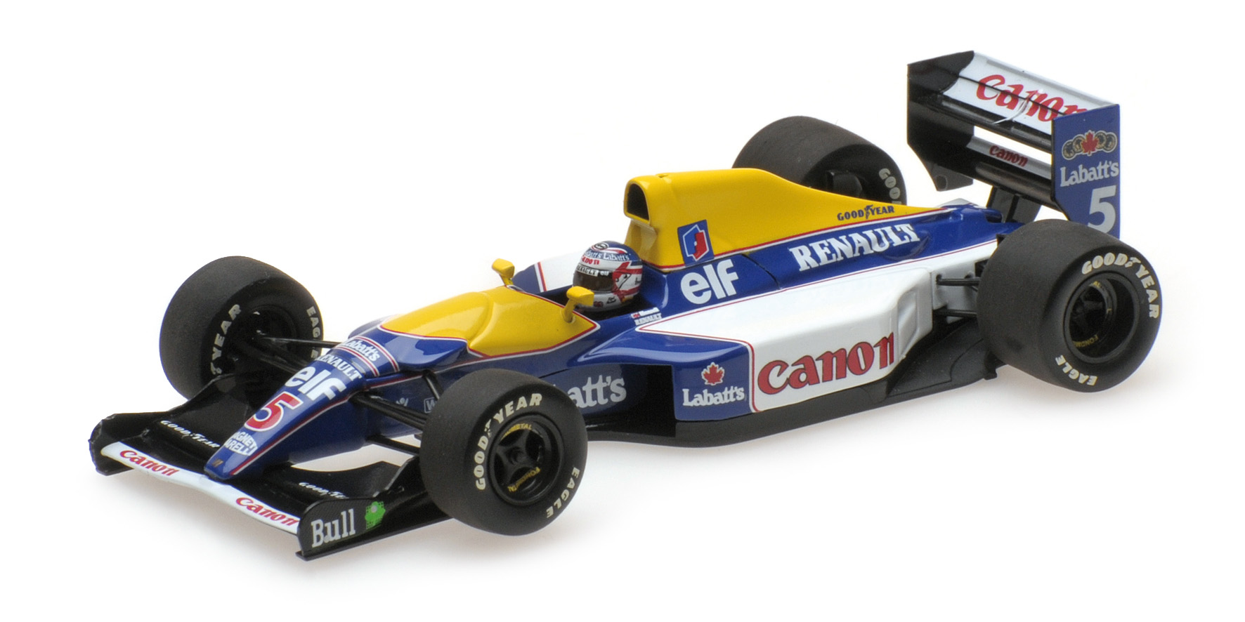 Minichamps - WILLIAMS RENAULT FW14B - NIGEL MANSELL - WORLD CHAMPION 1992