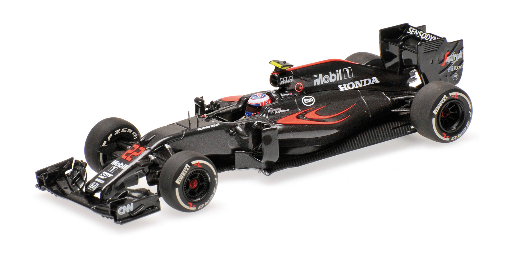 Minichamps - MCLAREN HONDA MP4-31 - JENSON BUTTON - 2016