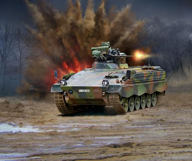 Revell - SPZ MARDER 1 A3