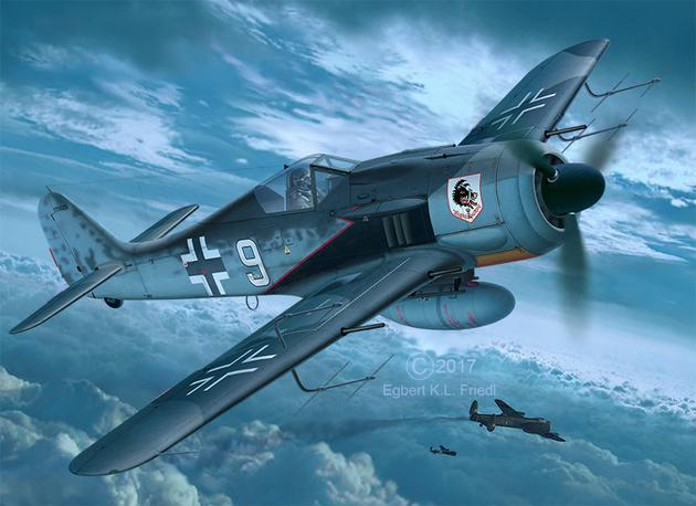 Revell - Focke Wulf Fw 190 A-8 Nightfighter
