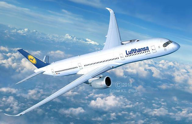 Revell - Airbus A350-900 Lufthansa