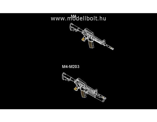 Trumpeter - AR-15/M16/M4 Family-M4