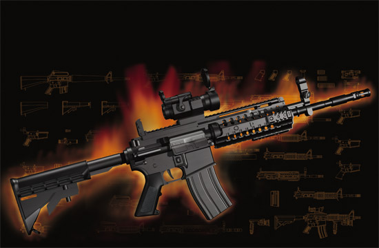 Trumpeter - AR15/M16/M4 Family-M4 S.I.R.