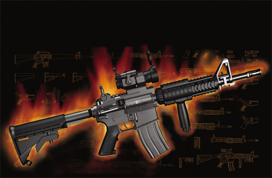 Trumpeter - AR15/M16/M4 FAMILY-M933